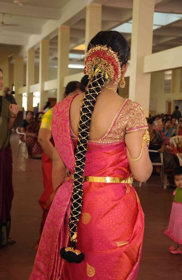 Beautiful South Indian Bridal Hairstyle Bridalhairstyle Southindianbr Indian Bridal Hairstyles Bridal Hairstyle Indian Wedding Bridal Hairstyle For Reception