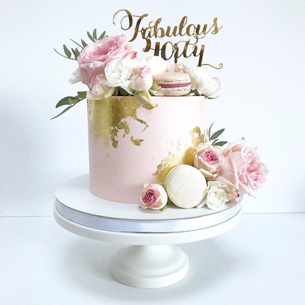 14++ 40th birthday cake for female ideas in 2021