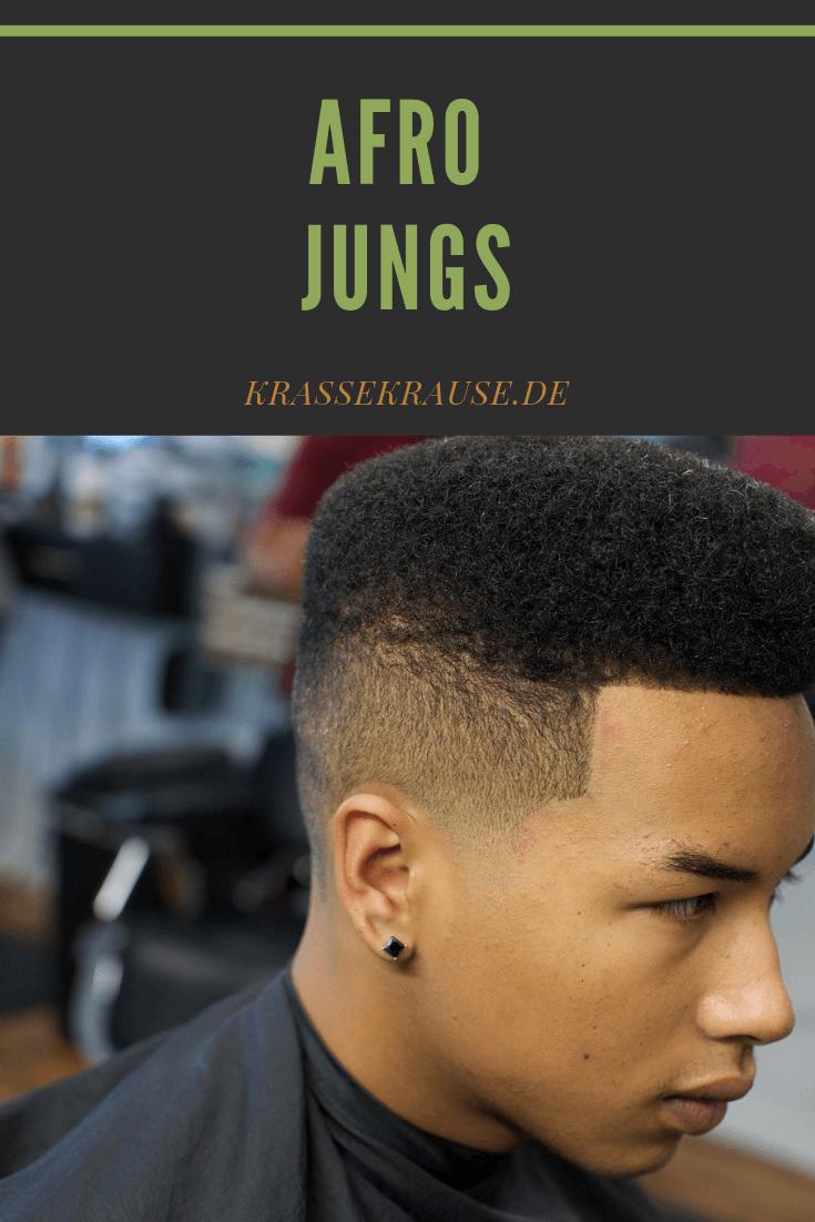 Afro Jungs Afro Haare Afro Naturliche Frisuren