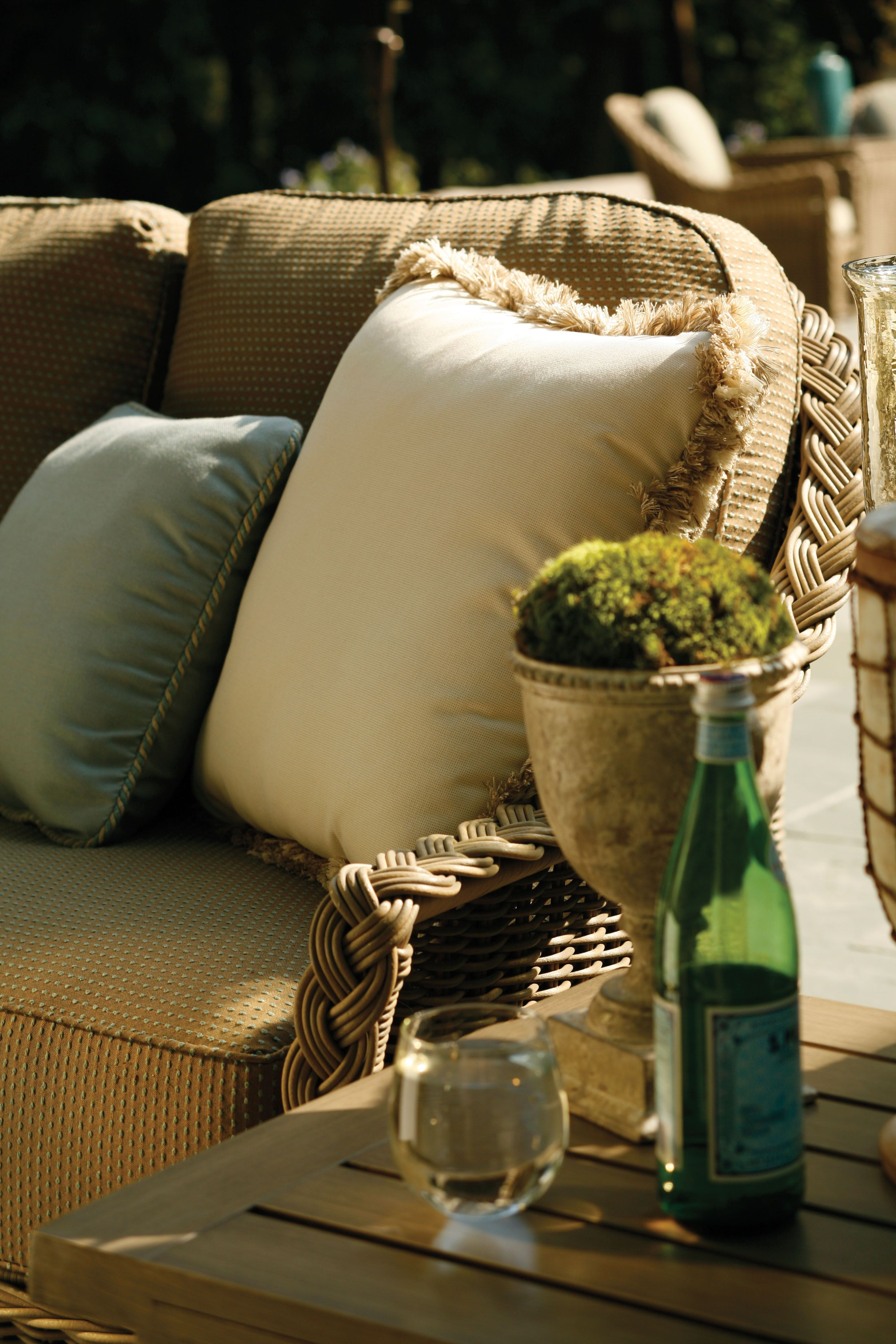 The Summer Classics Sedona collection features a hand ... on Fine Living Patio Set id=40658