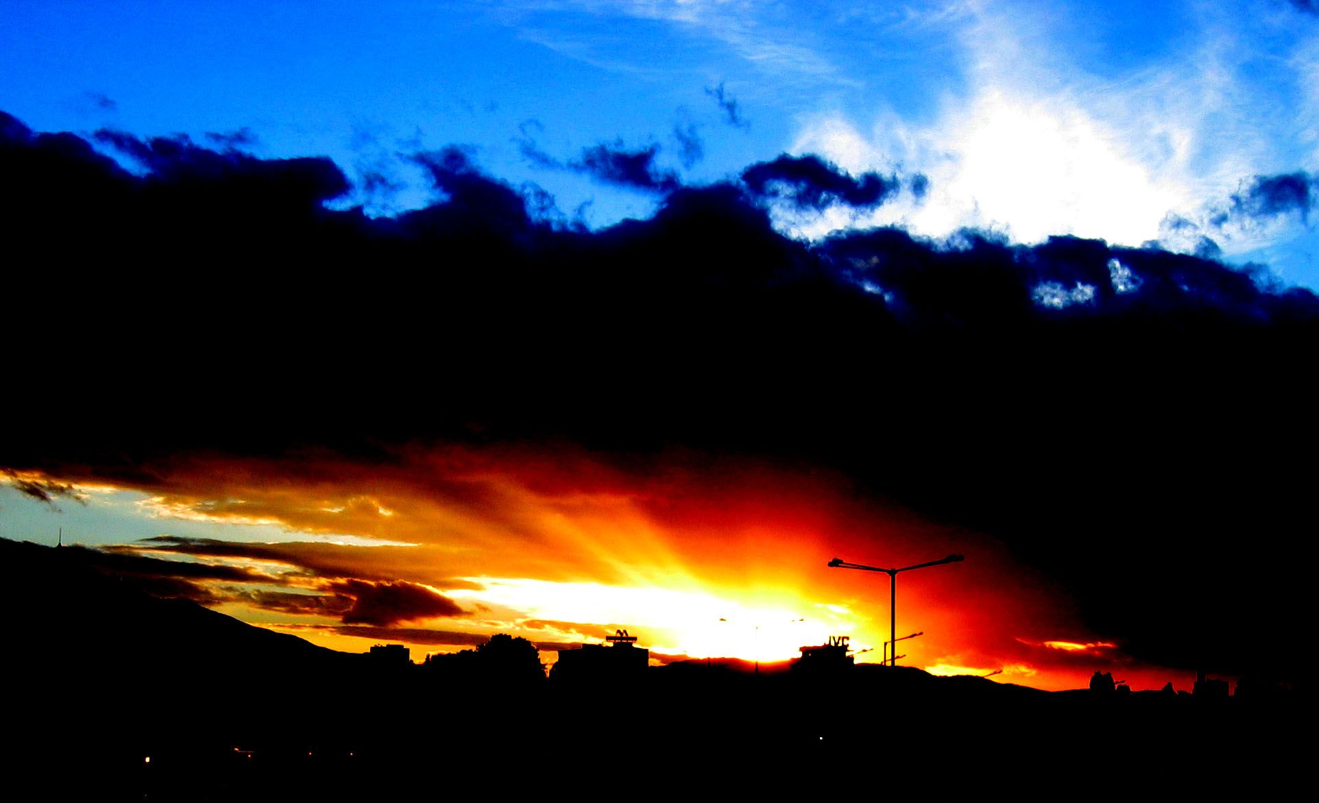 sunset | Contrast | Contrast photography, Example of ...