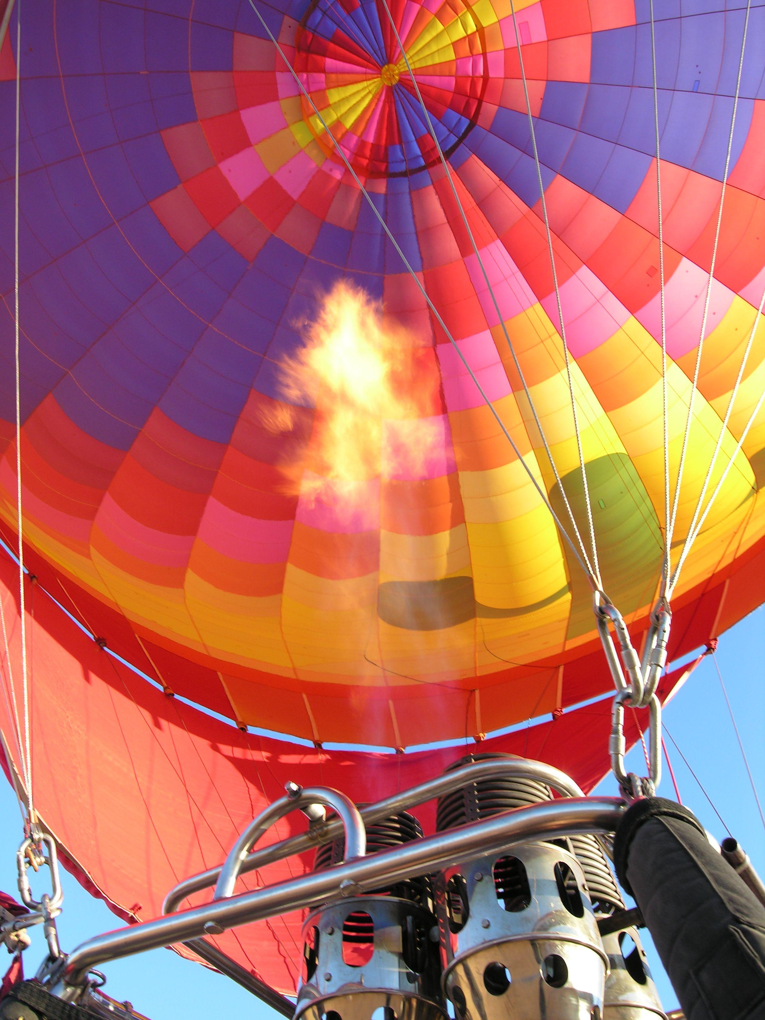 We have lift off! Balloon rides, Hot air balloon rides