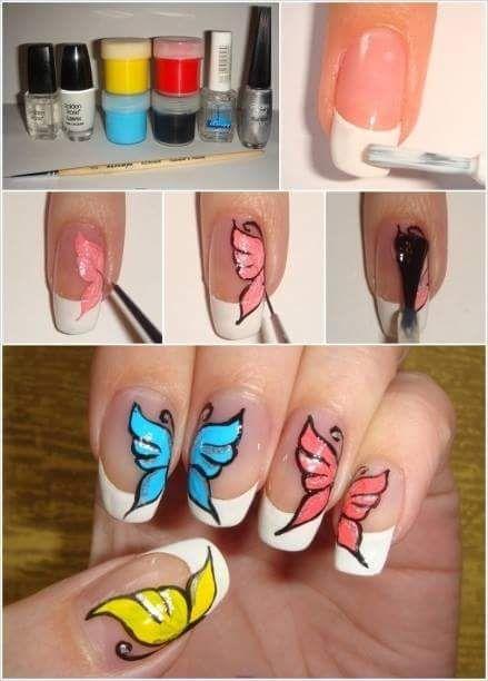 Erfly Simple Nail Art Tutorial