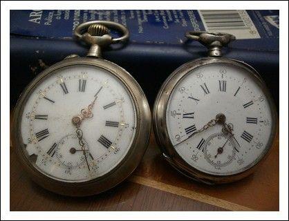 Orologi da tasca in argento