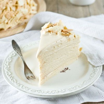 Rich Condensed Milk Layer Cake Very Thin Gentle Layers With Delicious Condensed Milk Cream Desserts Delicious Desserts Food