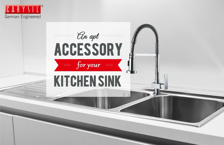 Need An Ideal Faucet For Your Kitchen Sink? Try Maximus! #CarysilKitchen