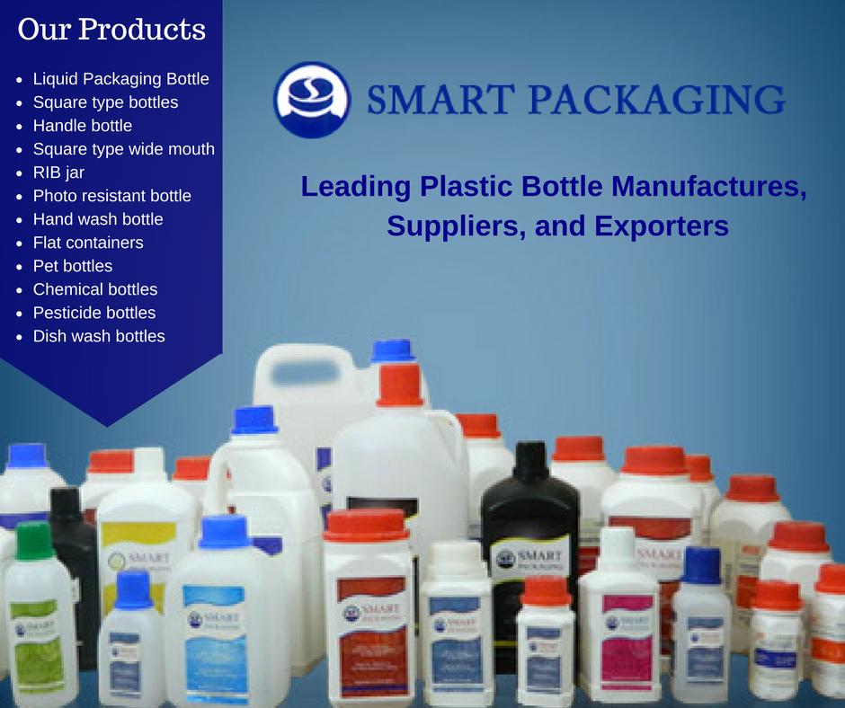Smart Packaging - Best plastic bottle manufacturers in Kerala, Pet
