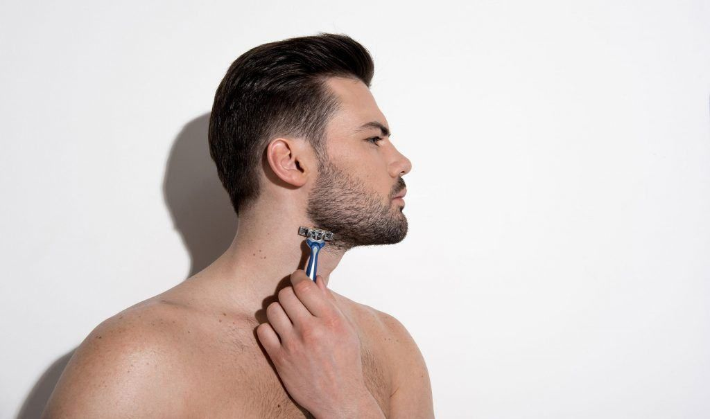 How To Trim Shape The Perfect Beard Neckline In 11 Simple Steps In 2020 Beard Neckline Perfect Beard Beard Trimming