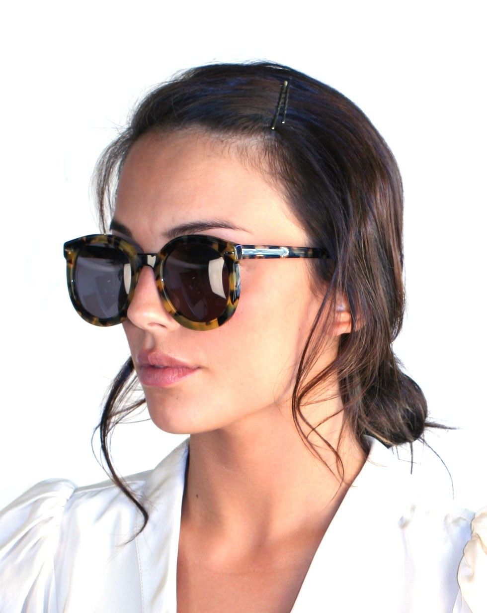 b39d15ea6a0 Super Duper Strength in Tortoise by Karen Walker Eyewear - Karen Walker  Eyewear - Shop by Designer
