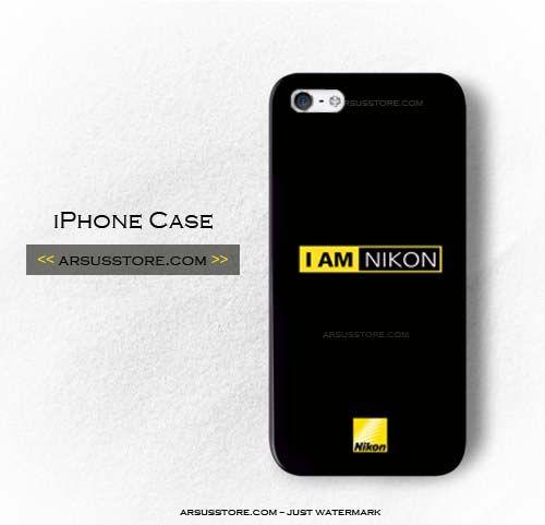 new arrivals 5dec9 f076a I Am Nikon Camera DLSR Photograph Professional Lens iPhone Case 5/5S ...