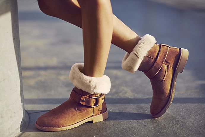 6d9419eb15b The Cedric Boot in Chestnut | shoes in 2019 | Ugg boots cheap, Ugg ...