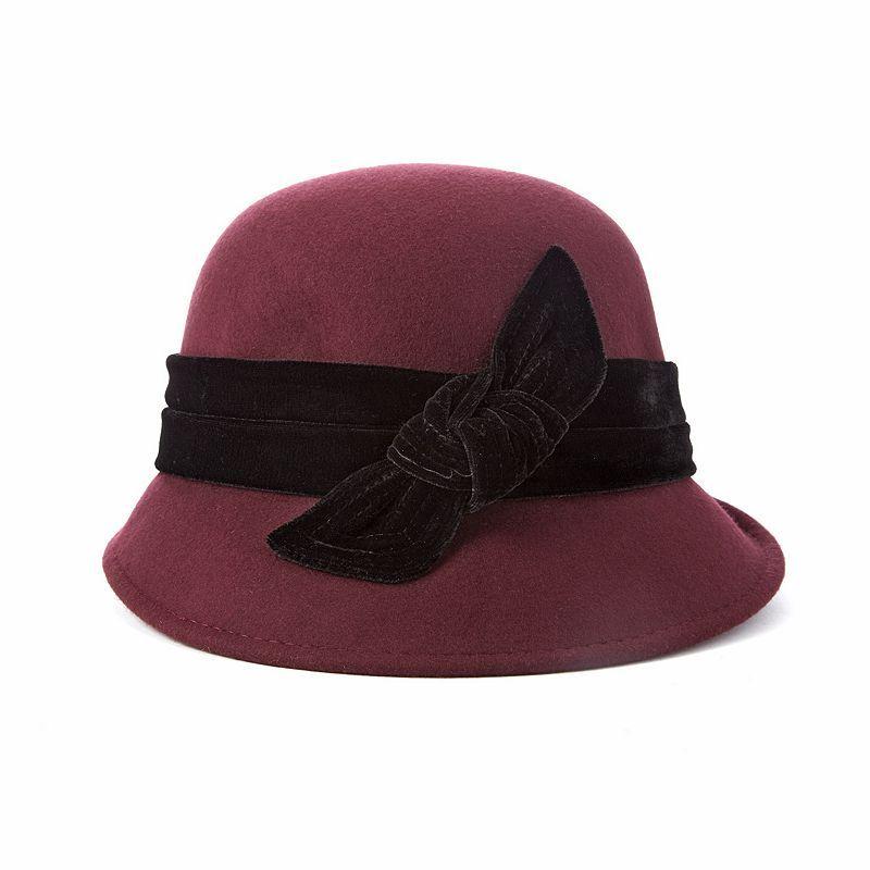 db803d75f Scala Wool Felt Cloche Hat in 2019   Products   Cloche hat, Wool ...