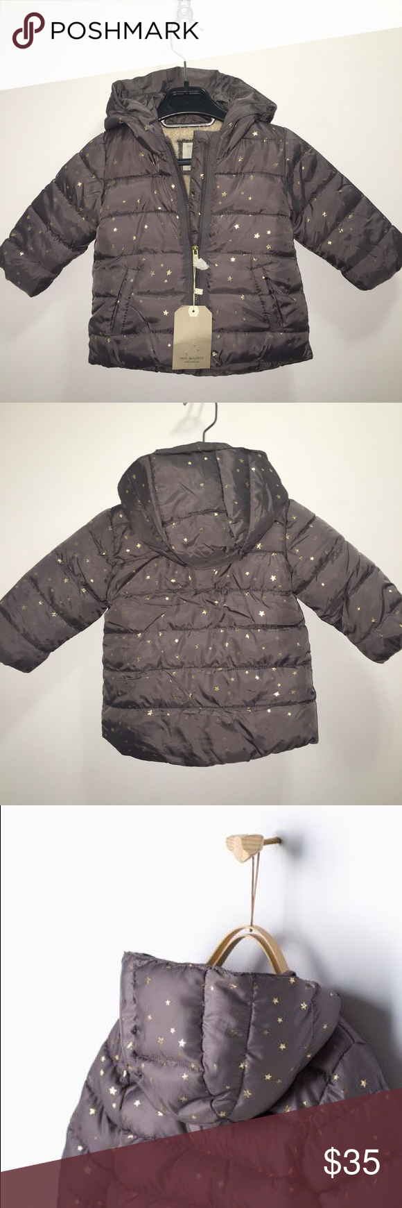 747264fef Zara Baby Girl Puffer Jacket NWT