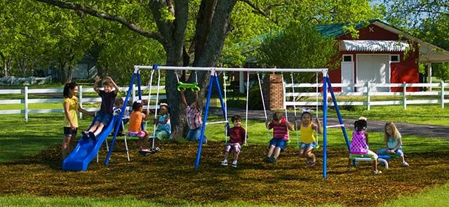 Fantastic Playground Www Flexible Flyer Com Made In Usa