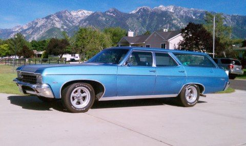 1970 Chevy Caprice Kingswood Wagon Station Wagon Chevy Chevy