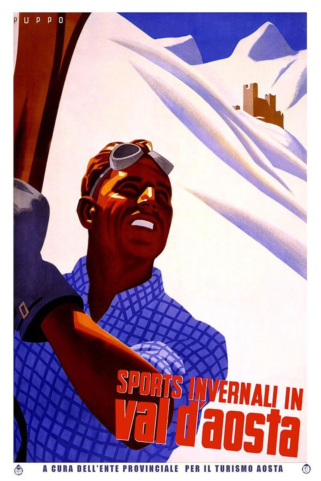 Sisters' Warehouse: Travel Vintage Poster
