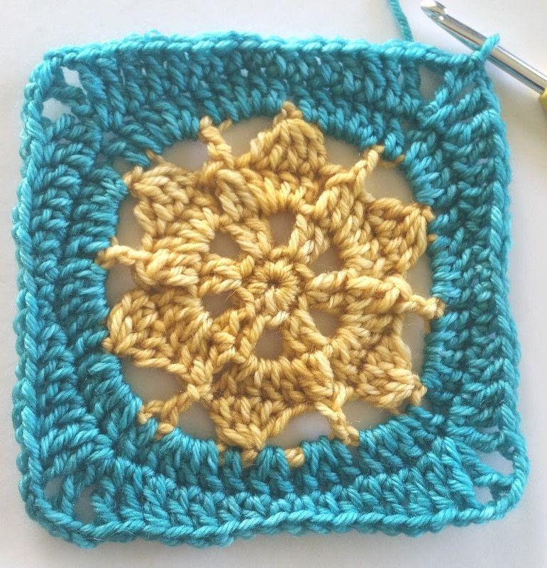 Bask Cushion Cover Using Indie Yarn Store Superwash Merino Yarn