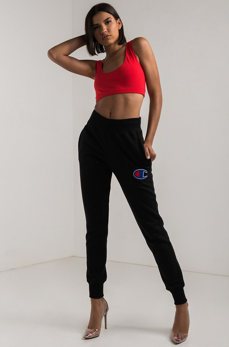 5d8a6c05d Champion Women's Jogger in Black, Team Maroon, Navy and Oxford Grey ...