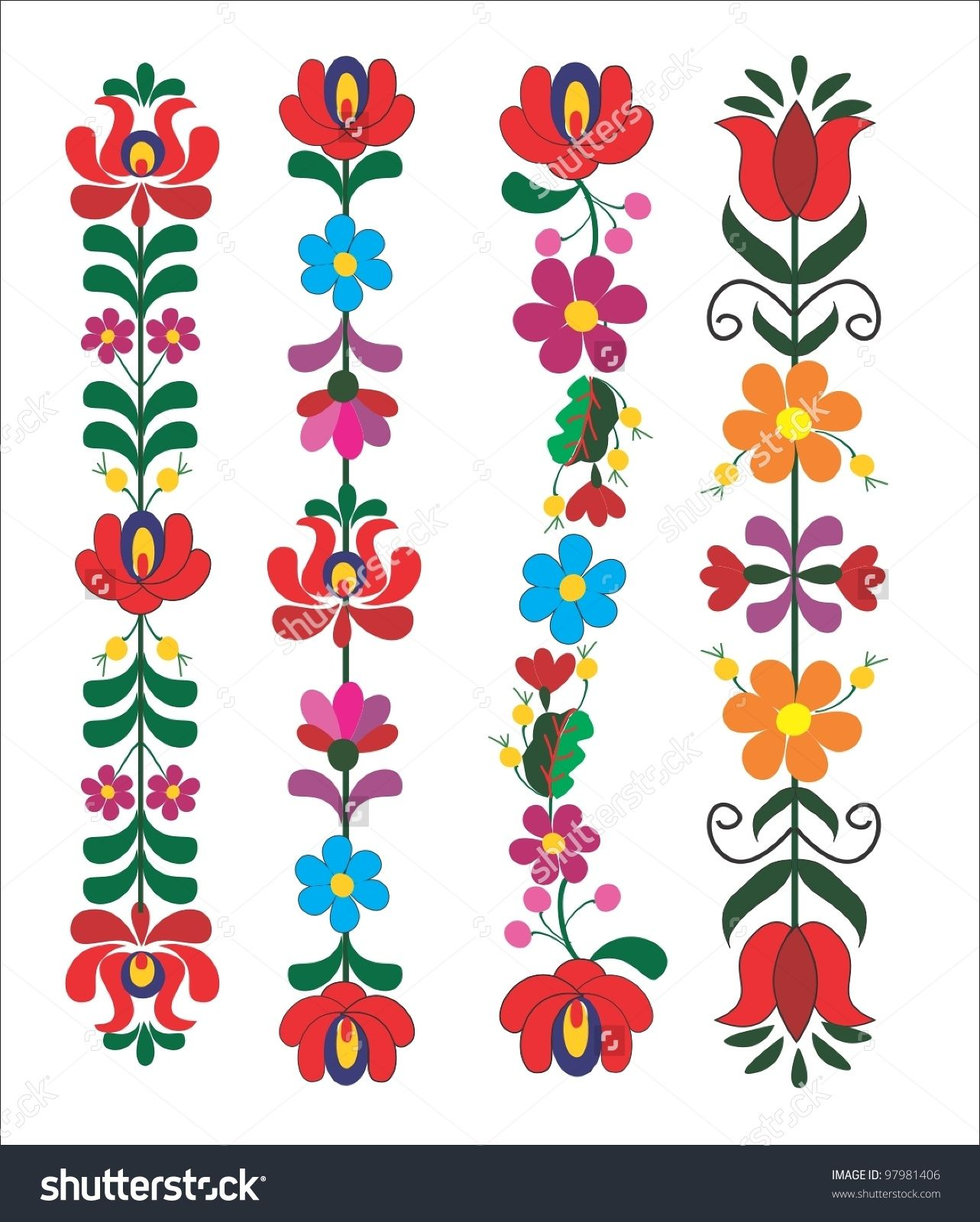 embroidery hungarian pattern | camisas | Pinterest | Embroidery ...