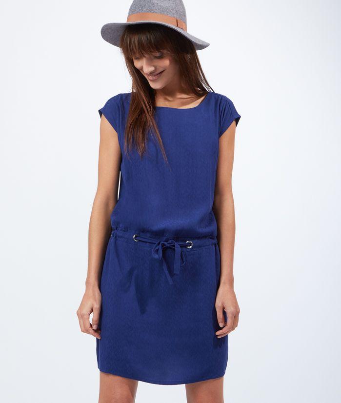 Robe bleu etam