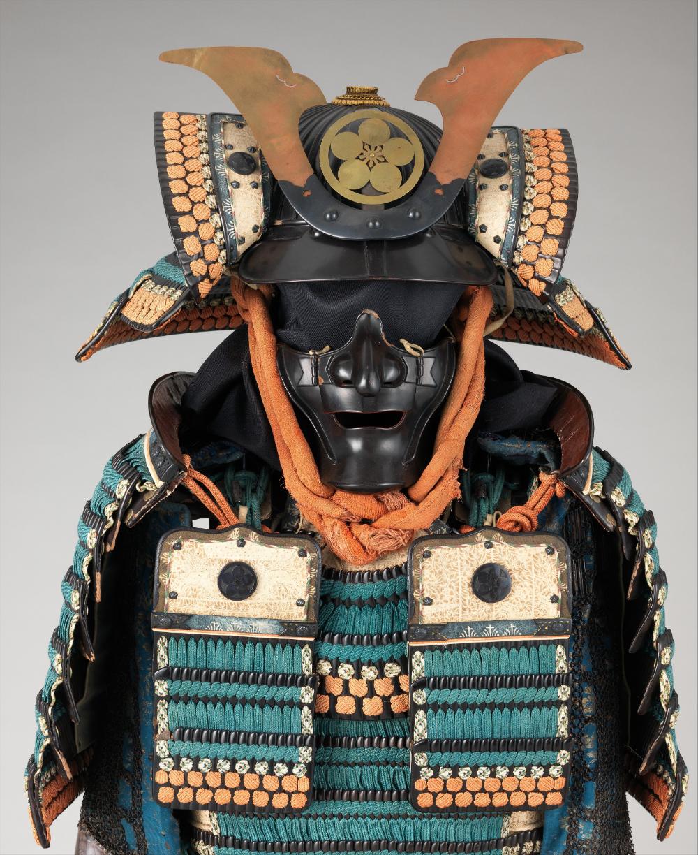 Armor Gusoku Of The Maeda Family Japanese The Met Samurai Helmet Samurai Armor Ancient Armor