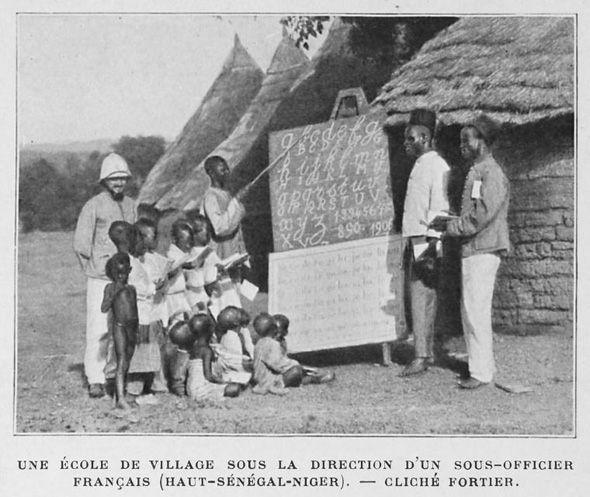003 School in West Africa French ImperialismAfrica