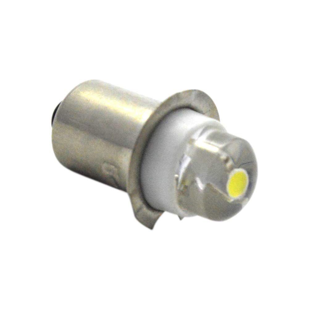 Ruiandsion P13 5 Torchlight Led Bulb Dc 3v 0 5w 6000k White 150lm Cob Led Bulb For Torchlight Flashlight Torch Headlightnegative Earth Led Bulb Bulb Flashlight