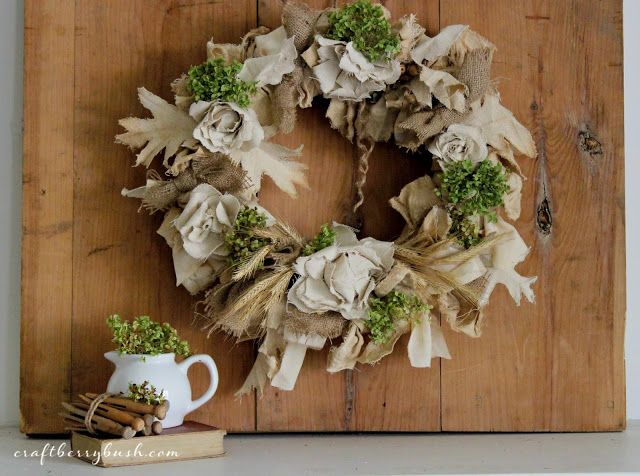 Craftberry Bush: Updated Fall Wreath and Seasons of Home - Autumn Edition