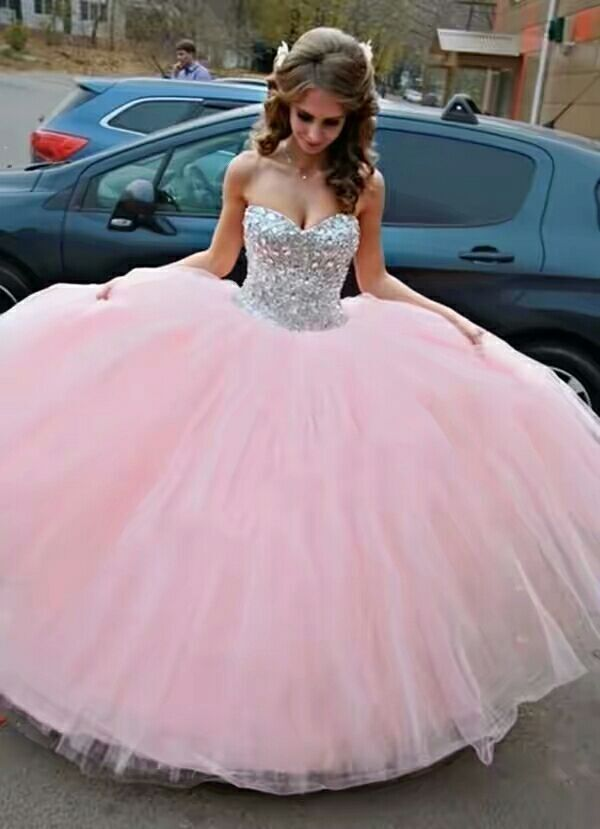 Women Sweetheart Pageant Quinceanera Dress Prom Ball Formal Gown ...