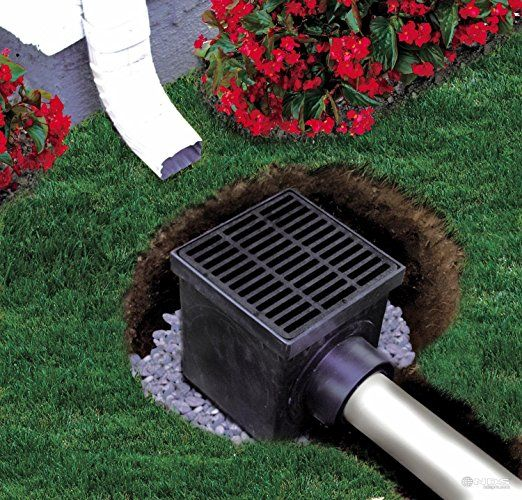 drain tile pipe idea for back wash from pool - Google Search | Pool