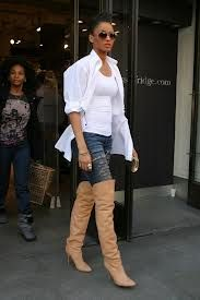 72f8da019352a Cool in Camo  Jada Pinkett Smith s Military Jacket and Turtleneck Look for  Less
