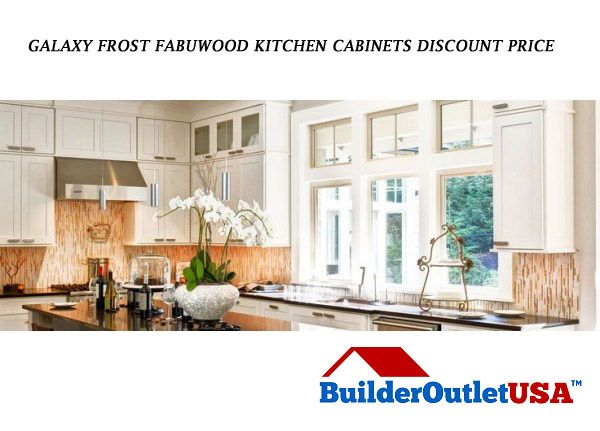 Best Galaxy Frost Fabuwood Kitchen Cabinets Sale Best Price 400 x 300