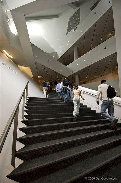 Denver Art Museum Interior Staircase 2947 By Coogan Photo Via Flickr