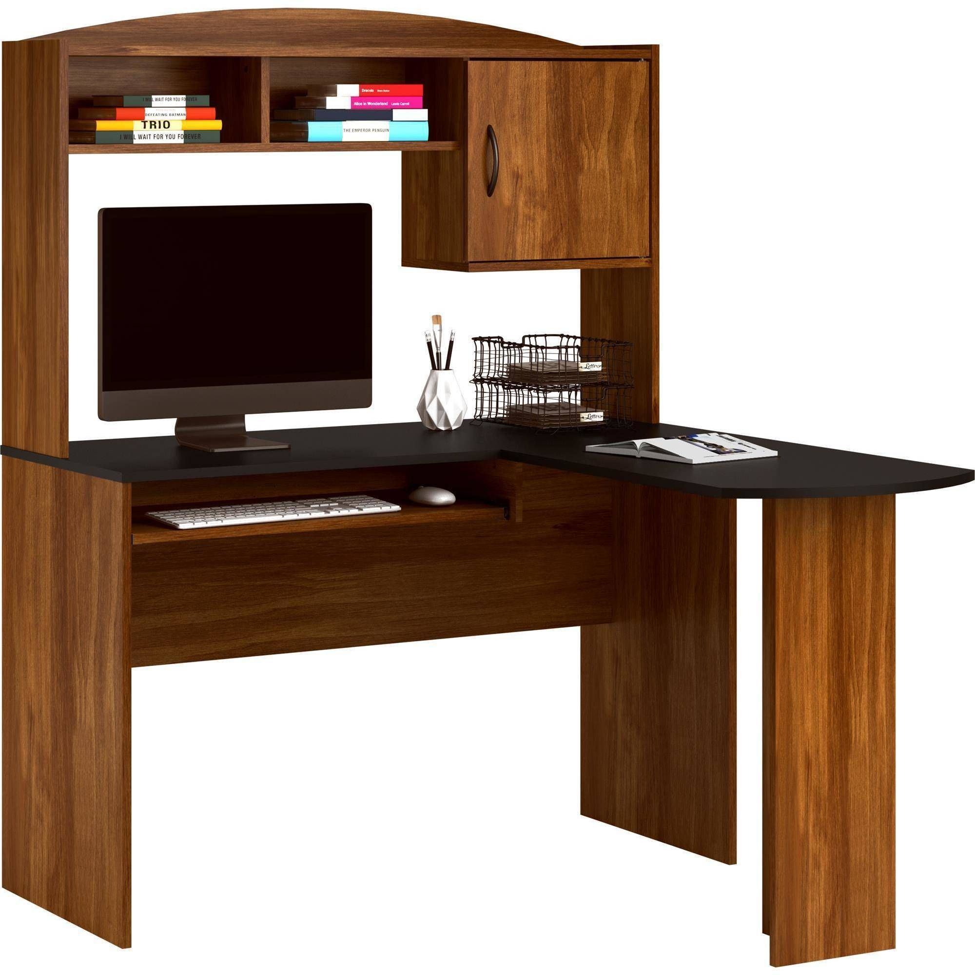 creativity corner office storage small most chip with cheap workstation computer desk oak blue glass