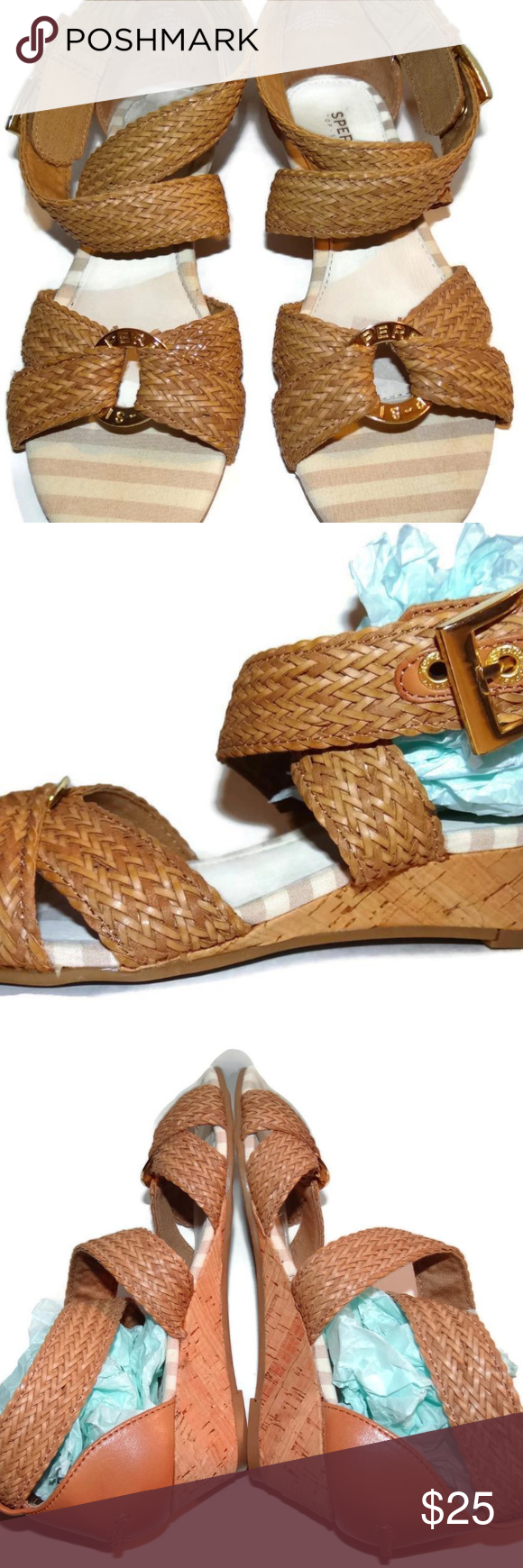397132c723 Sperry Alvina Wedge Sandal Criss Cross Ankle Strap Make the Alvina by Sperry  top-sider