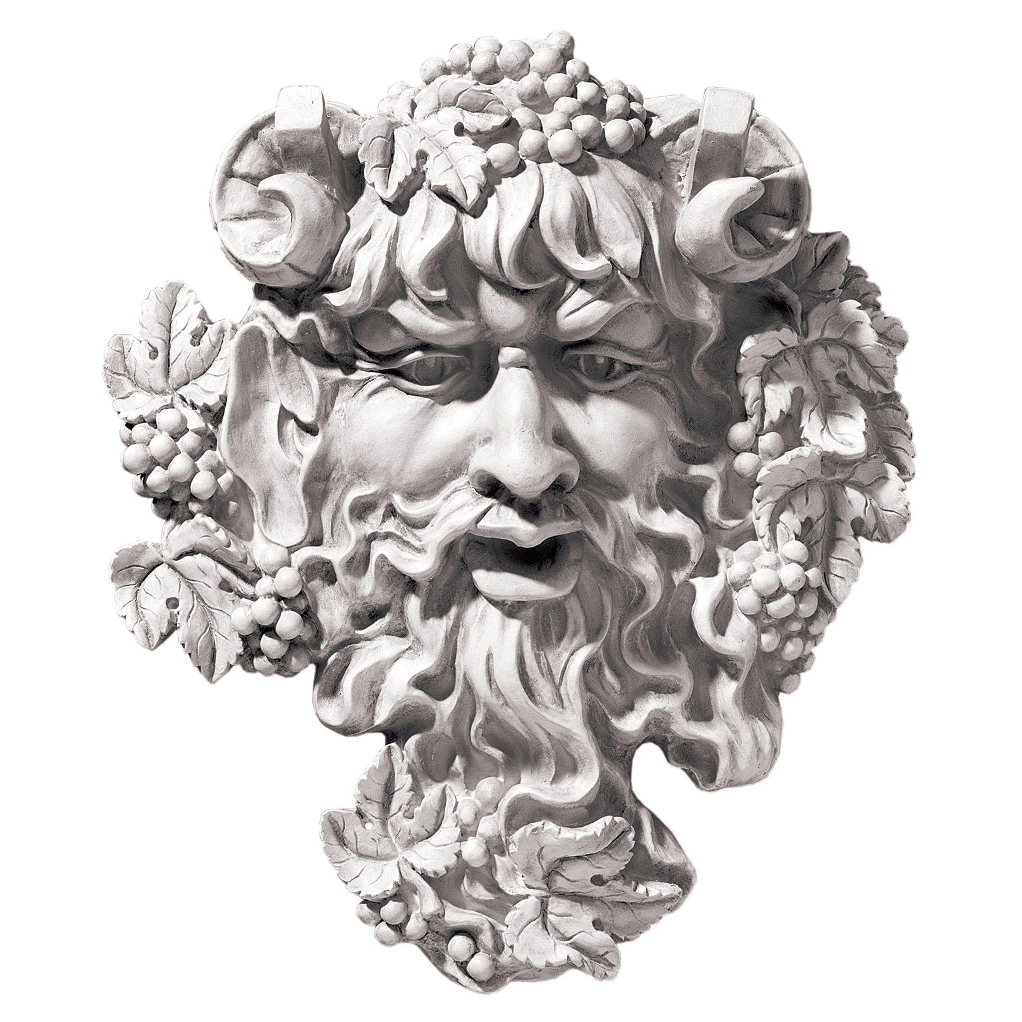 Bacchus God Of Wine Greenman Wall Decor Wall Sculpture Art Wall
