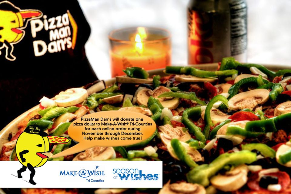 Help make wishes come true while enjoying a delicious