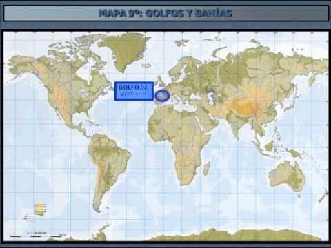 Mapa 9 Golfos Y Bahias Cartografico Bahias Socialismo