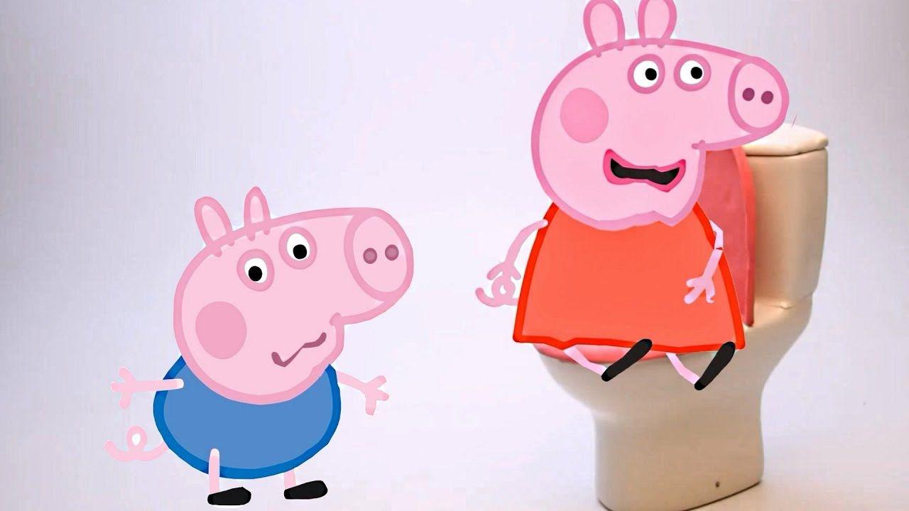 Peppa Pig Toilet Sickness Gross Food Prank Peppa Pig In Real Life
