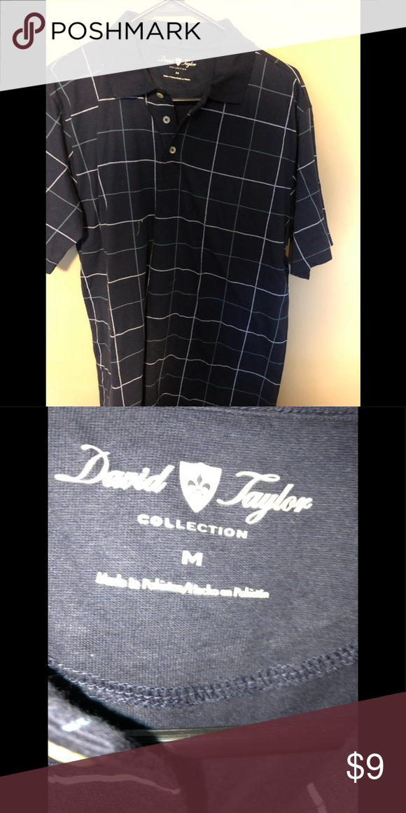 19072488 Dark blue polo men's shirt Brand new without tag. Never worn just stored.  Great condition Shirts Polos