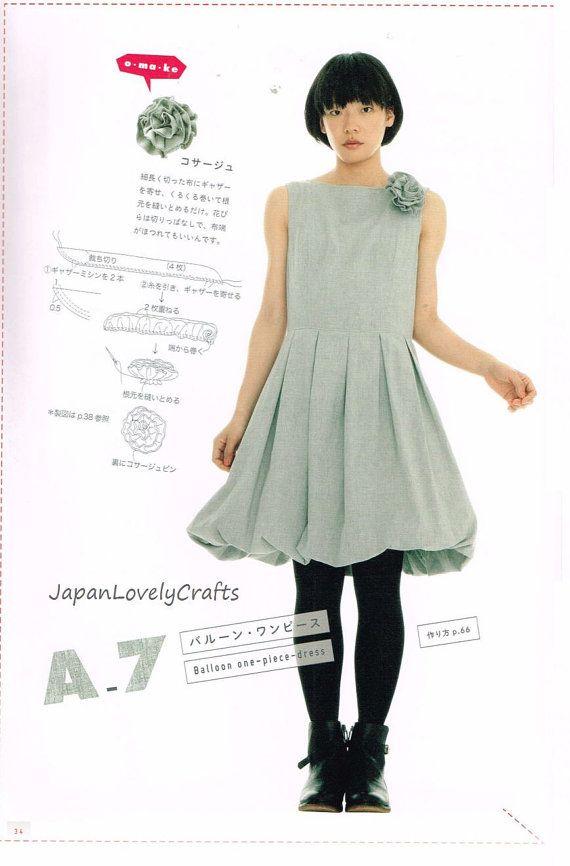 einteiler kleid muster yoshiko tsukiori von. Black Bedroom Furniture Sets. Home Design Ideas