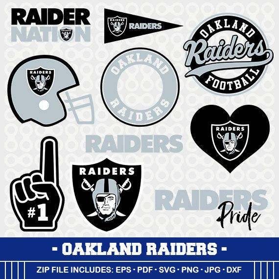 Oakland Raiders Svg Files Raiders Football Clipart Svg Cameo Oakland Raiders Cricut Files Raiders Svg Designs Scre Oakland Raiders Silhouette Crafts Cricut