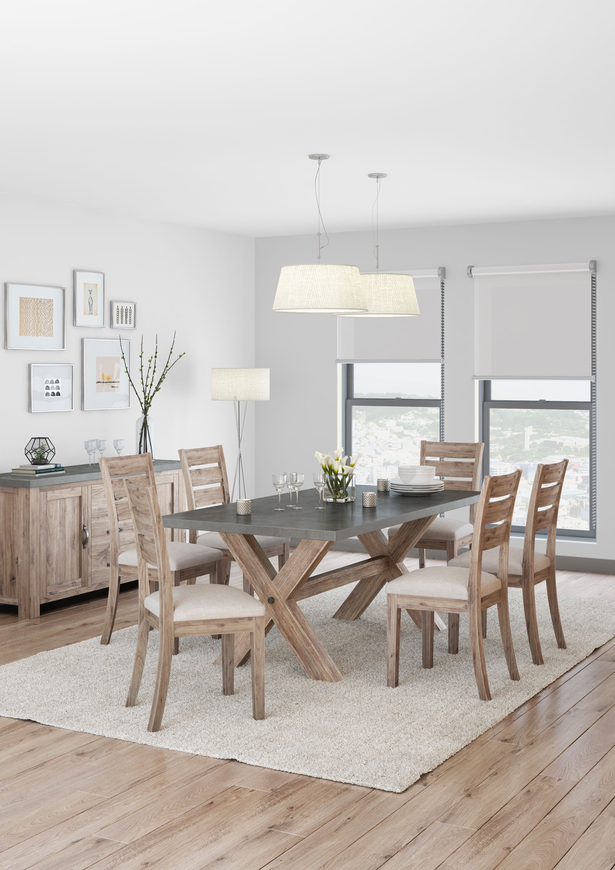 Rockhampton Dining Table And 4 Side Chairs With Images Dining