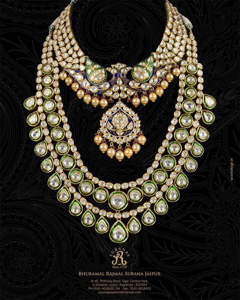 Indian Bridal Kundan And Pearl Jewellery Bridal Fashion