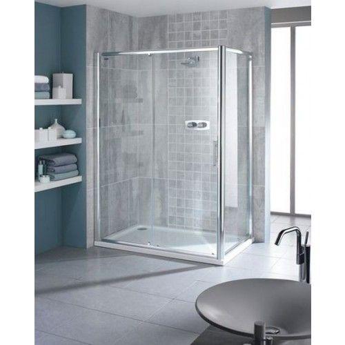 Showerlux Glide Single Door Slider  sc 1 st  Pinterest & Showerlux Glide Single Door Slider | Enclosures and Screens ...