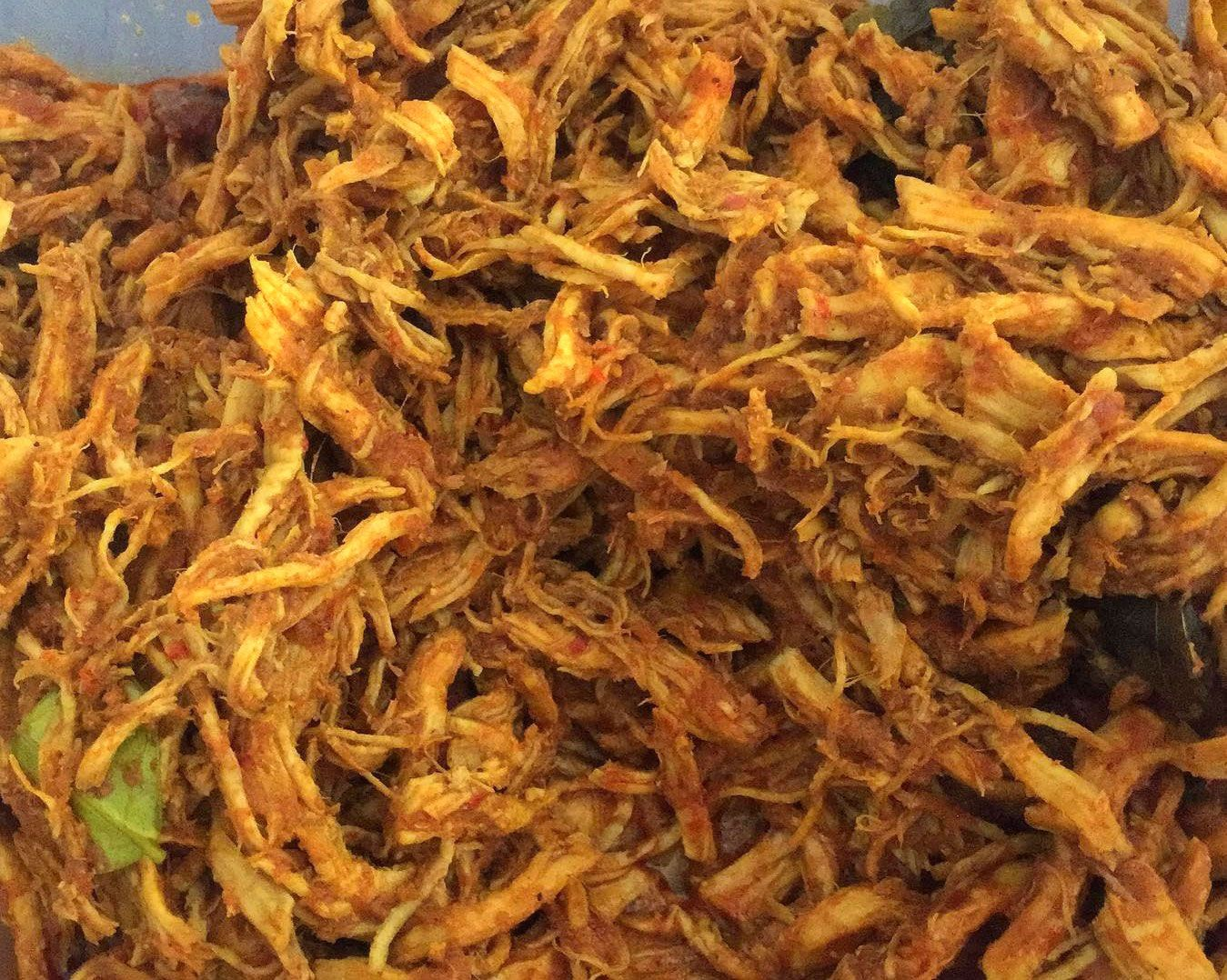 Rendang Ayam Suwir Gurih Dan Lezat Resep Ayam Resep Ayam Masakan