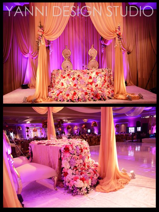 Wedding Flowers and Decorations | Sweetheart Table & Head ...