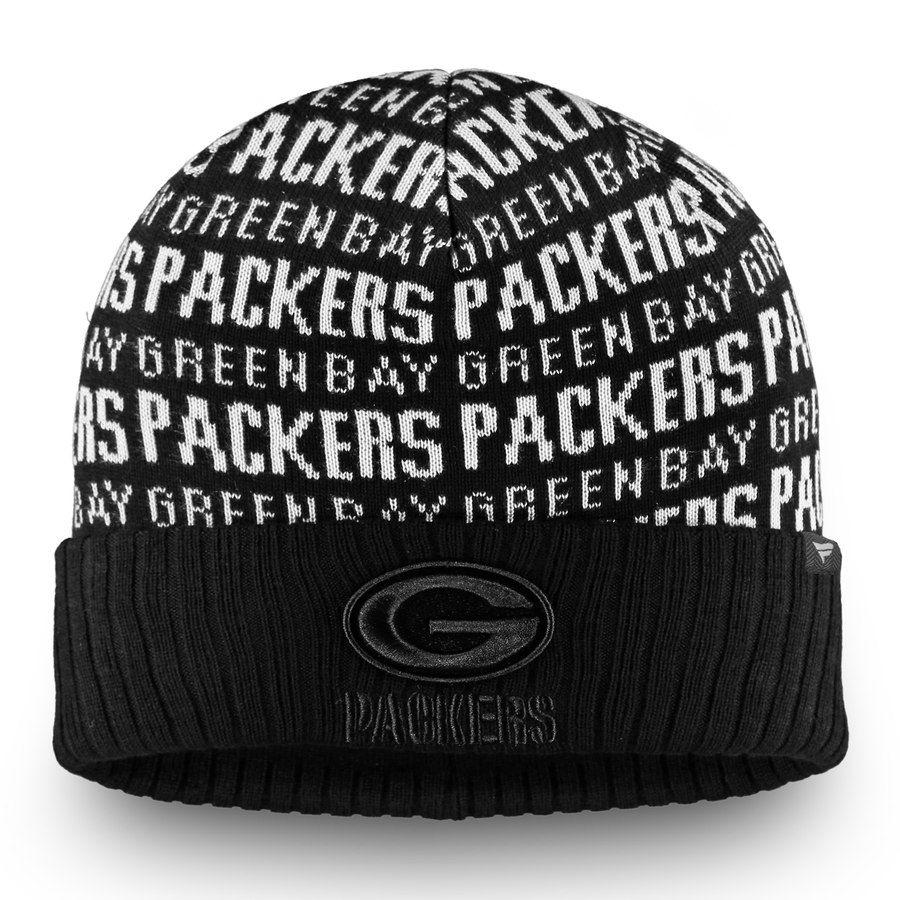 ea9d0f86 Men's Green Bay Packers NFL Pro Line by Fanatics Branded Black Black ...