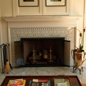 Fireplaces Hearths On Pinterest Cement Tiles