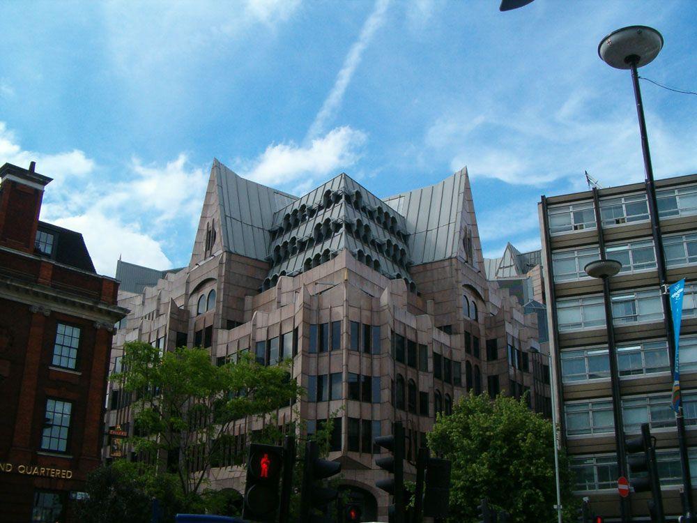 Postmodern Gothic Architecture